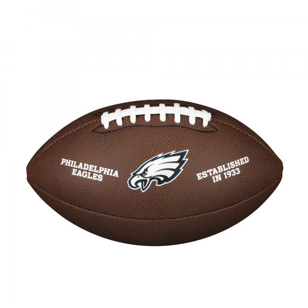 Wilson NFL Team Logo Composite Football - Philadelphia Eagles