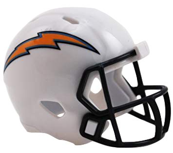 Speed Pocket Pro Club Helmet - Los Angeles Chargers