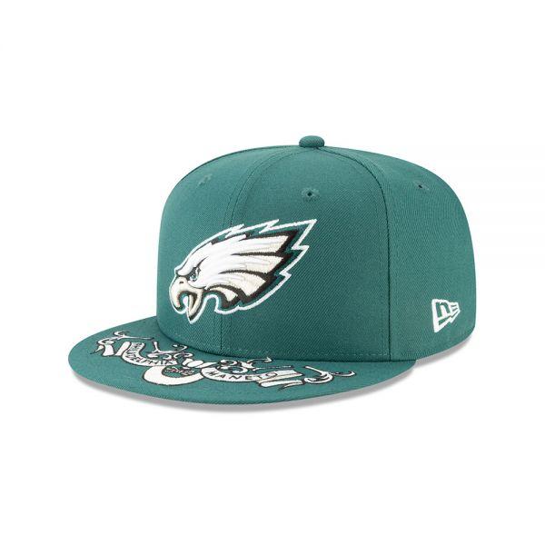 New Era NFL19 Draft Cap - Philadelphia Eagles