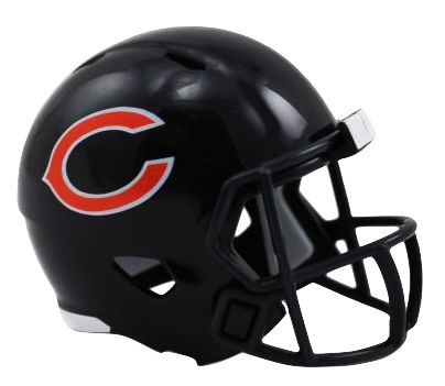 Speed Pocket Pro Club Helmet - Chicago Bears
