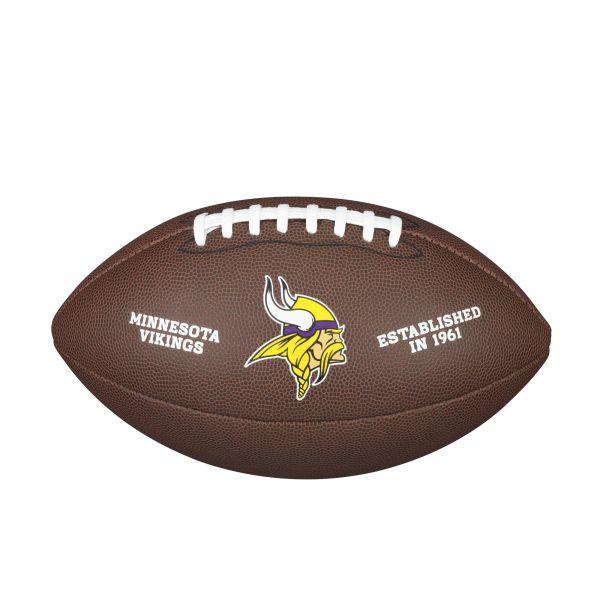 Wilson NFL Team Logo Composite Football - Minnesote Vikings