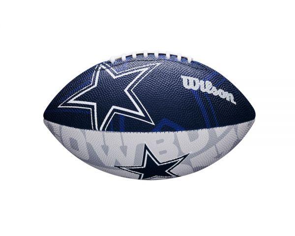 Wilson NFL Junior Team Logo Ball - Dallas Cowboys
