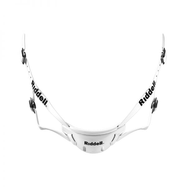 Riddell Kinnriemen Hard Cup Mid/High - White