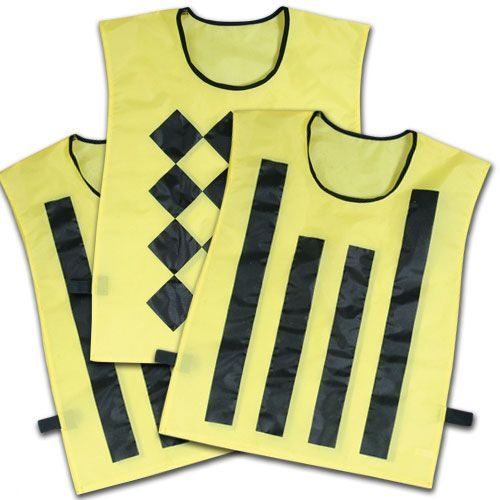 Champro Sideline Official Pinnies (Set of 3)
