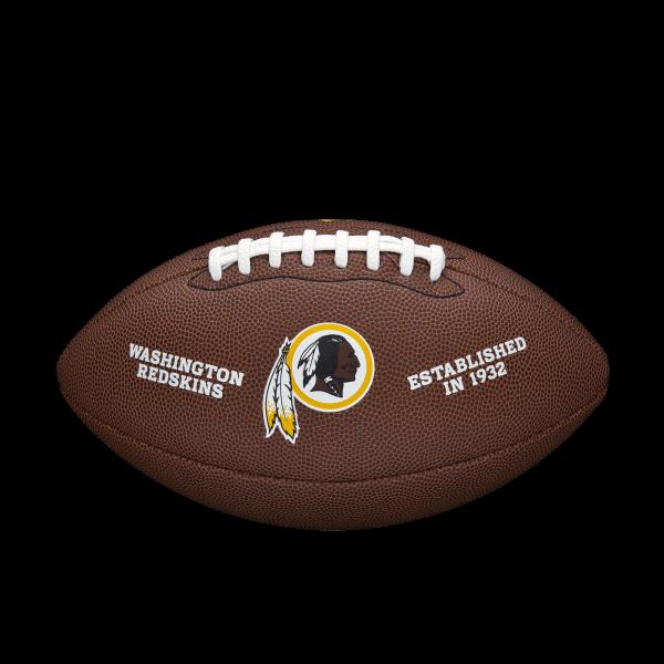 Wilson NFL Team Logo Composite Football - Washington Redskins