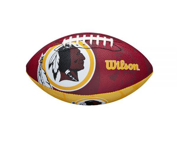 Wilson NFL Junior Team Logo Ball - Washington Redskins
