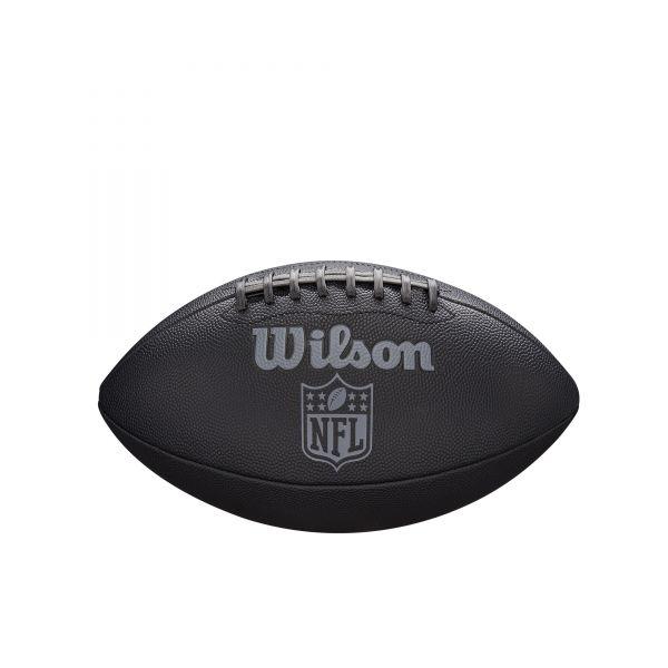 Wilson NFL JET BLACK Junior Size Composite Football