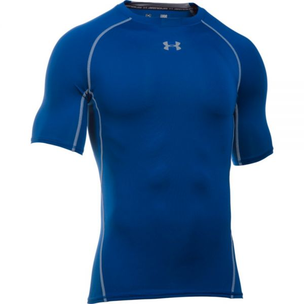 Under Armour HeatGear Shortsleeve Compression Tee - Royal Blue