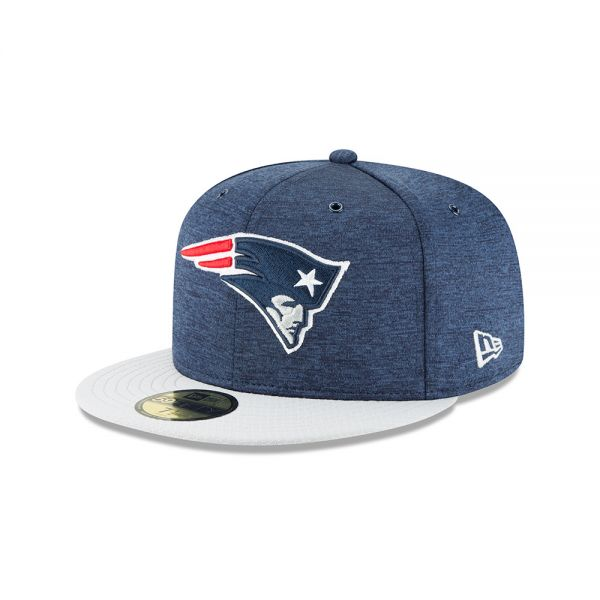 New Era 59FIFTY NFL18 Sideline Home Cap - New England Patriots