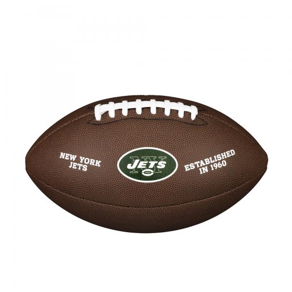 Wilson NFL Team Logo Composite Football - New York Jets