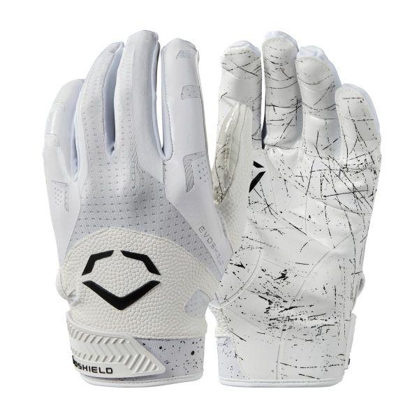Evoshield EVO BURST Receiver Glove - White