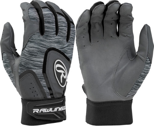 Rawlings 5150GBG 5150 Batting Gloves - Black
