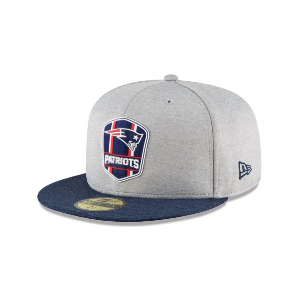 New Era 59FIFTY NFL18 Sideline Away Cap - New England Patriots