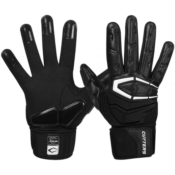 Cutters S932 The Force 3.0 Lineman Glove - Black