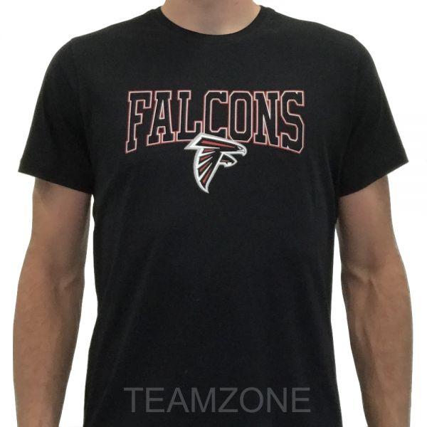 New Era NFL Team Apparel Script Tee - Atlanta Falcons