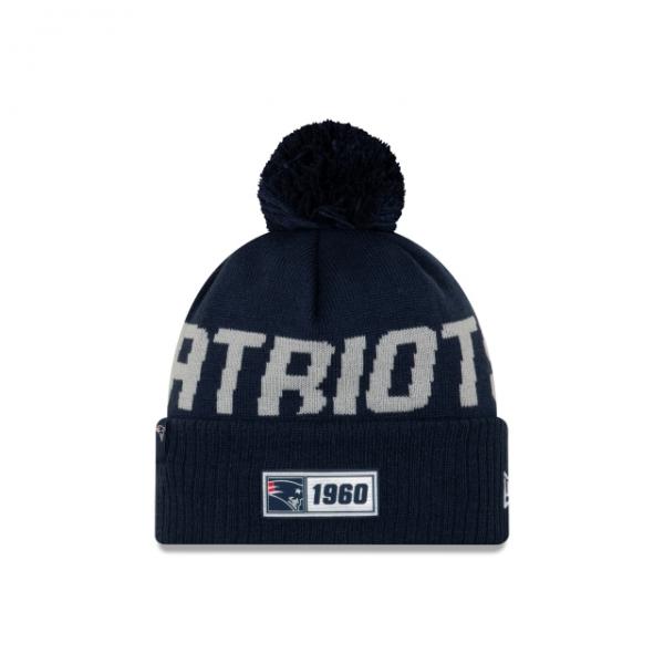 New Era On Field NFL19 Sport Knit Road - New England Patriots
