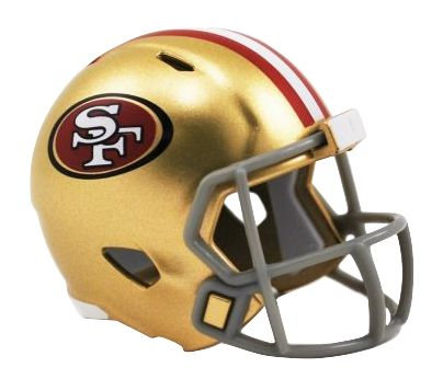 Speed Pocket Pro Club Helmet - San Francisco 49ers