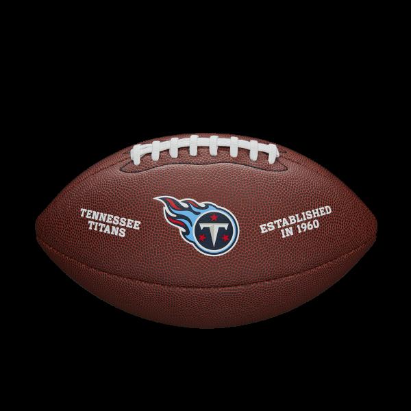 Wilson NFL Team Logo Composite Football - Tennessee Titans