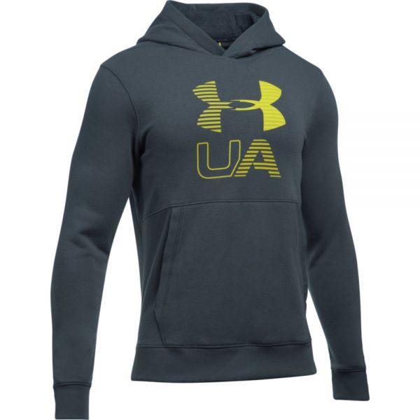 Under Armour Threadborne Graphic Hoodie - Gray