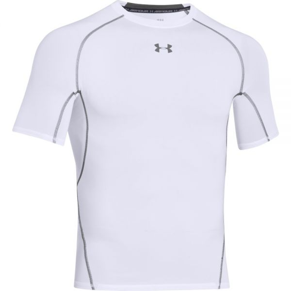 Under Armour HeatGear Shortsleeve Compression Tee - White