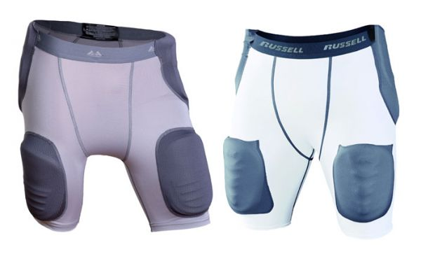 MM Girdle with Sewn In 5-Piece Pad Set