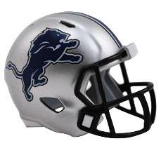 Speed Pocket Pro Club Helmet - Detroit Lions