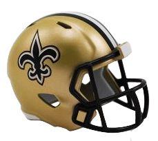 Speed Pocket Pro Club Helmet - New Orleans Saints