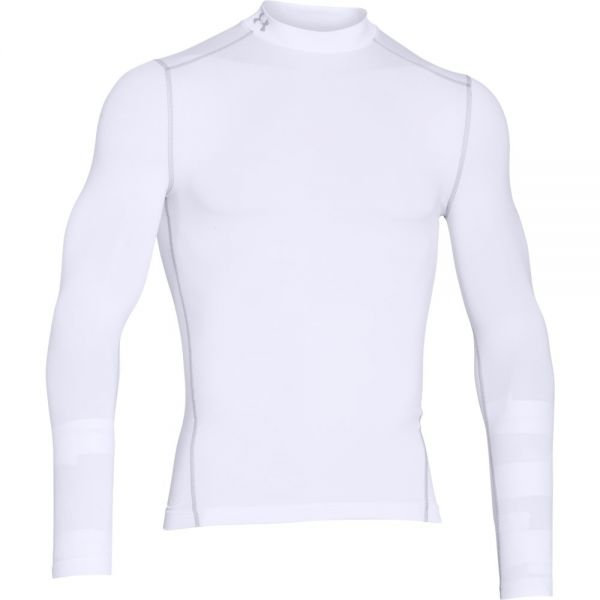 Under Armour Coldgear Armour Mock - White