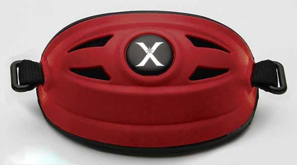 Xenith Hybrid Chin Cup - Scarlet