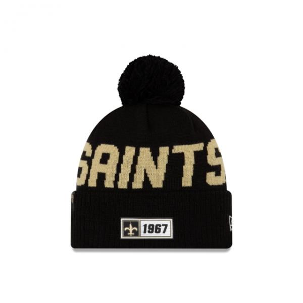 New Era On Field NFL19 Sport Knit Road - New Orleans Saints