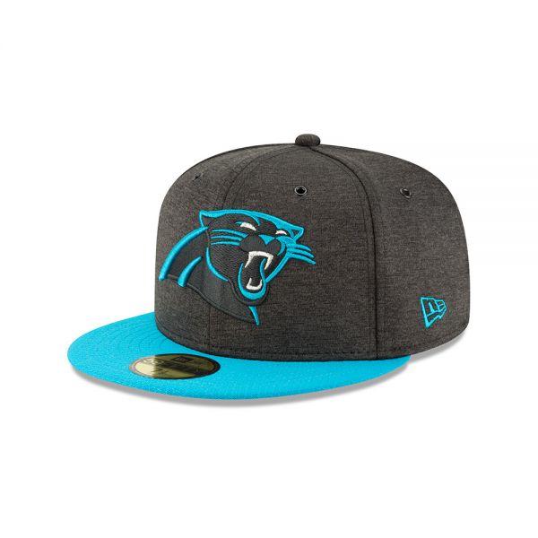 New Era 59FIFTY NFL18 Sideline Home Cap - Carolina Panthers