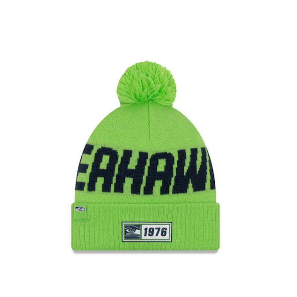 New Era NFL19 REV Sport Knit Road - Seattle Seahawks