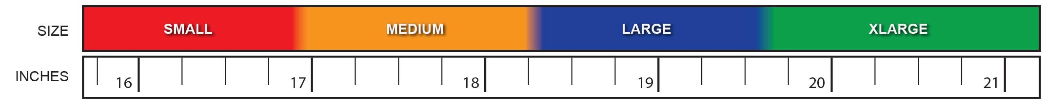 Xflexion Size Chart