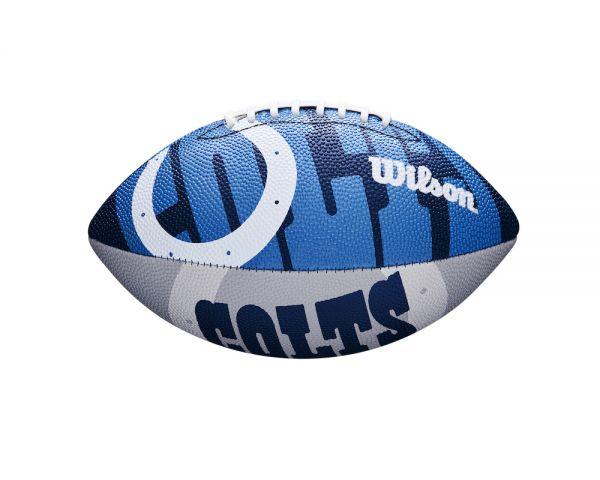 Wilson NFL Junior Team Logo Ball - Indianapolis Colts