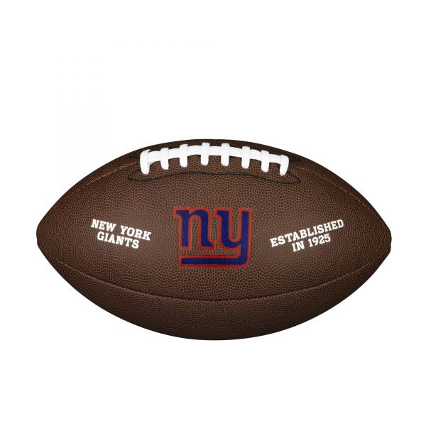 Wilson NFL Team Logo Composite Football - New York Giants