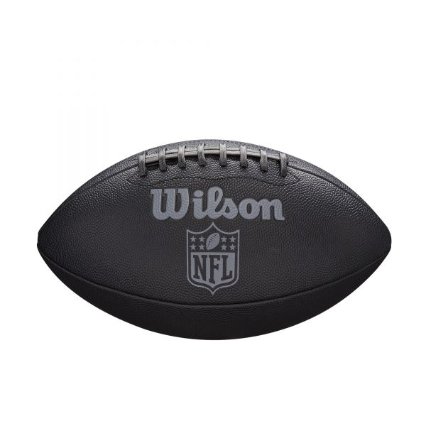 Wilson NFL JET BLACK Official Size Composite Football
