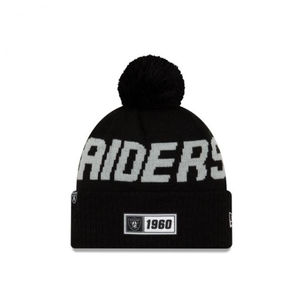 New Era On Field NFL19 Sport Knit Road - Las Vegas Raiders