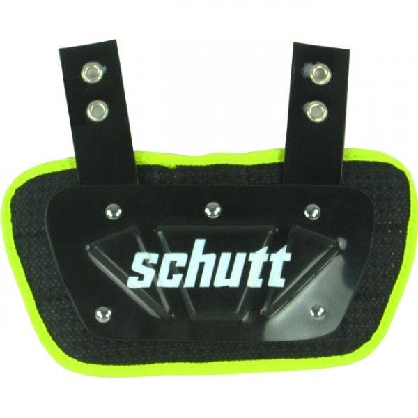 Schutt Youth Back Plate - Neon Yellow