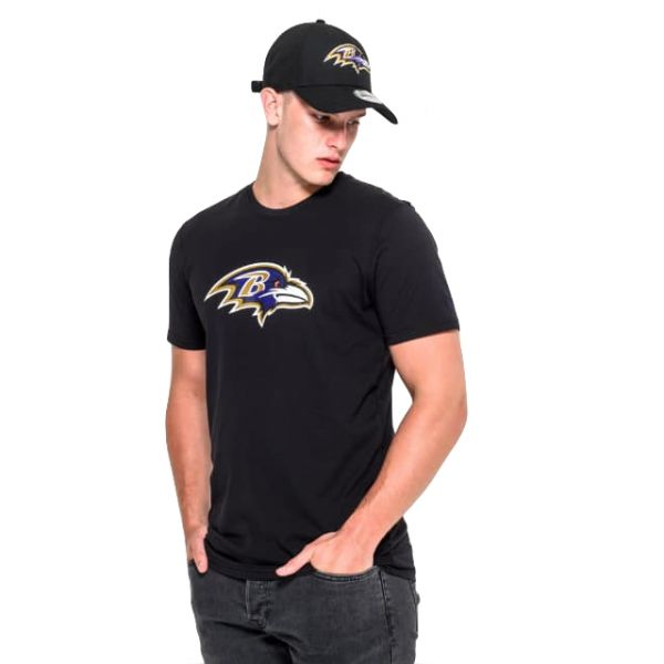 New Era NFL Team Logo Tee - Baltimore Ravens