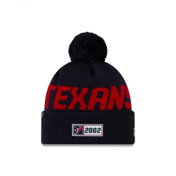 New Era On Field NFL19 Sport Knit Road - Houston Texans