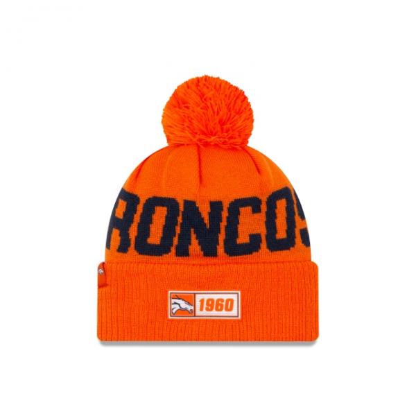 New Era On Field NFL19 Sport Knit Road - Denver Broncos