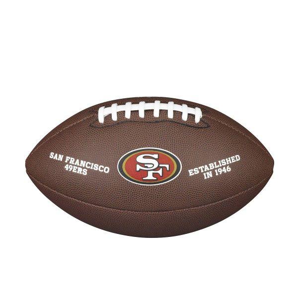 Wilson NFL Team Logo Composite Football - San Francisco 49ers