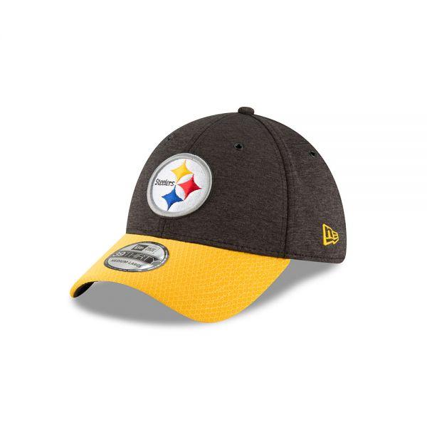 New Era 39THIRTY NFL18 Sideline Home Cap - Pittsburgh Steelers