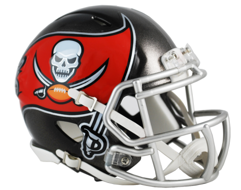Speed Mini Helmet - Tampa Bay Buccaneers