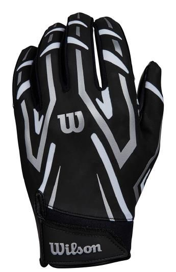 Wilson Youth Clutch Receiver Gloves - Black