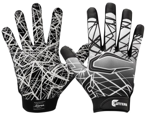 Cutters S150 Game Day Receiver Glove - Black