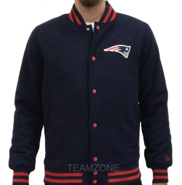 New Era NFL Team Apparel Varsity Jacket - New England Patriots