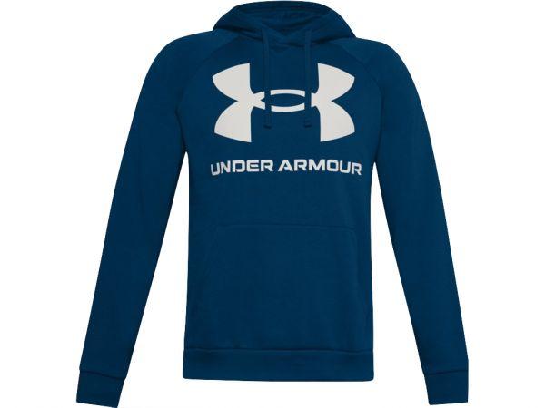 Under Armour Rival Fleece Big Logo Hoodie - Blue