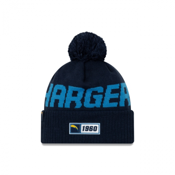 New Era On Field NFL19 Sport Knit Road - Los Angeles Chargers