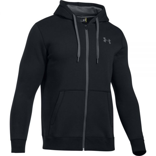 Under Armour Rival Fitted Full Zip Hoodie - Black